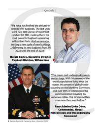 Maritime Reporter Magazine, page 8,  Nov 2020