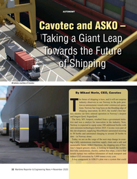 Maritime Reporter Magazine, page 32,  Nov 2020