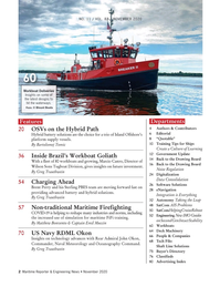 Maritime Reporter Magazine, page 2,  Nov 2020