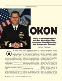 Maritime Reporter Magazine, page 70,  Nov 2020