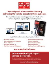 Maritime Reporter Magazine, page 73,  Nov 2020