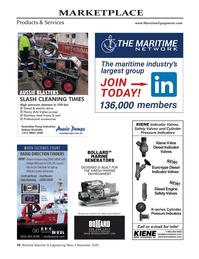 Maritime Reporter Magazine, page 78,  Nov 2020