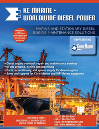 Maritime Reporter Magazine, page 3rd Cover,  Nov 2020