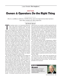Maritime Reporter Magazine, page 11,  Dec 2020