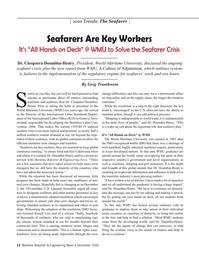 Maritime Reporter Magazine, page 12,  Dec 2020
