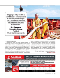 Maritime Reporter Magazine, page 13,  Dec 2020