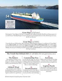 Maritime Reporter Magazine, page 2,  Dec 2020