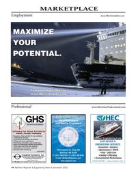 Maritime Reporter Magazine, page 44,  Dec 2020