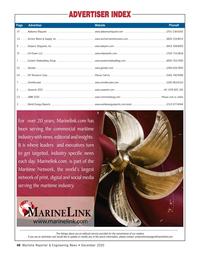 Maritime Reporter Magazine, page 48,  Dec 2020