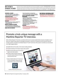 Maritime Reporter Magazine, page 60,  Jan 2021