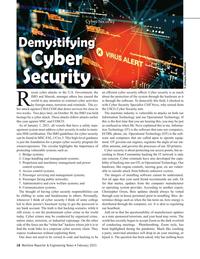 Maritime Reporter Magazine, page 18,  Feb 2021