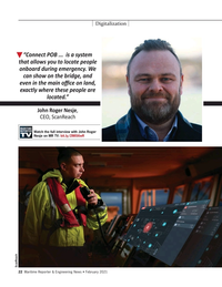 Maritime Reporter Magazine, page 22,  Feb 2021