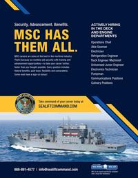 Maritime Reporter Magazine, page 1,  Feb 2021