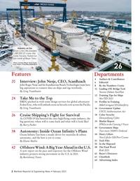 Maritime Reporter Magazine, page 2,  Feb 2021