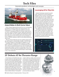 Maritime Reporter Magazine, page 54,  Feb 2021