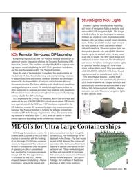 Maritime Reporter Magazine, page 55,  Feb 2021