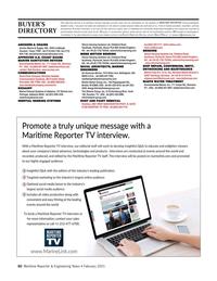 Maritime Reporter Magazine, page 60,  Feb 2021