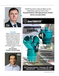 Maritime Reporter Magazine, page 11,  Apr 2021