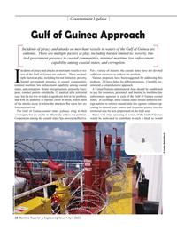 Maritime Reporter Magazine, page 16,  Apr 2021