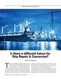 Maritime Reporter Magazine, page 22,  Apr 2021