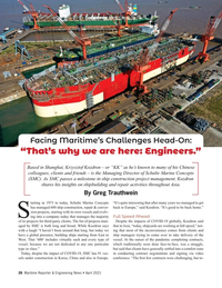 Maritime Reporter Magazine, page 26,  Apr 2021