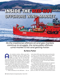 Maritime Reporter Magazine, page 34,  Apr 2021