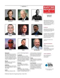 Maritime Reporter Magazine, page 4,  Apr 2021