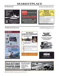 Maritime Reporter Magazine, page 62,  Apr 2021