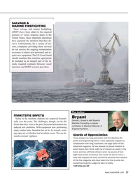 Maritime Reporter Magazine, page 17,  May 2021