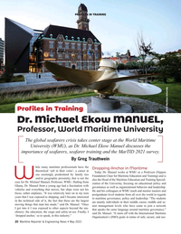 Maritime Reporter Magazine, page 20,  May 2021