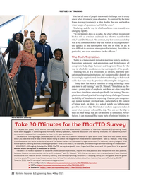 Maritime Reporter Magazine, page 22,  May 2021