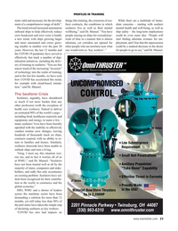 Maritime Reporter Magazine, page 23,  May 2021
