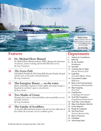 Maritime Reporter Magazine, page 2,  May 2021