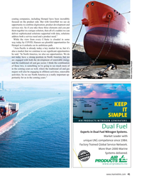 Maritime Reporter Magazine, page 41,  May 2021