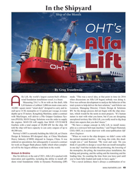 Maritime Reporter Magazine, page 49,  May 2021