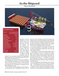 Maritime Reporter Magazine, page 50,  May 2021