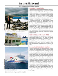 Maritime Reporter Magazine, page 52,  May 2021