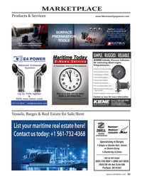 Maritime Reporter Magazine, page 63,  May 2021