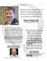 Maritime Reporter Magazine, page 10,  Jun 2021