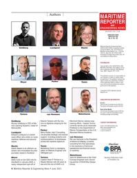 Maritime Reporter Magazine, page 4,  Jun 2021