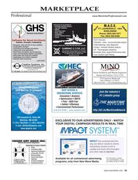 Maritime Reporter Magazine, page 61,  Jun 2021