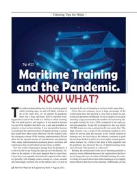 Maritime Reporter Magazine, page 12,  Aug 2021
