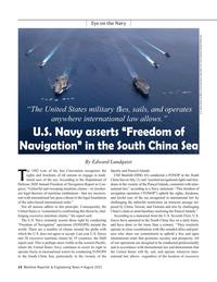 Maritime Reporter Magazine, page 14,  Aug 2021