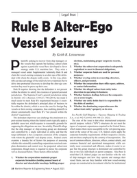 Maritime Reporter Magazine, page 18,  Aug 2021