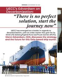 Maritime Reporter Magazine, page 22,  Aug 2021