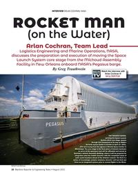 Maritime Reporter Magazine, page 26,  Aug 2021