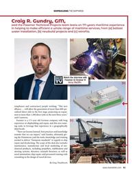 Maritime Reporter Magazine, page 41,  Aug 2021