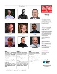 Maritime Reporter Magazine, page 4,  Aug 2021
