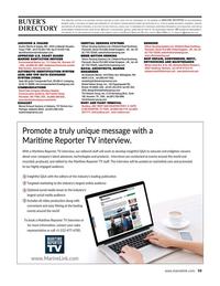 Maritime Reporter Magazine, page 59,  Aug 2021