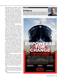 Maritime Reporter Magazine, page 11,  Sep 2021